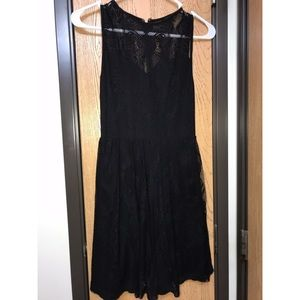 Lace backless dress. Perfect LBD